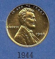 GOLD PLATED 1944 WHEAT CENT