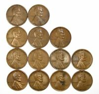 LOT OF 25 1931 P 1C LINCOLN WHEAT CENT PENNIES EXTRA FINE  EXTRA FINE / EXTRA FINE  128173