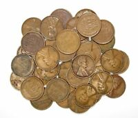 LOT OF 35 1931 P 1C LINCOLN WHEAT CENT PENNIES VF  FINE / VF 128166