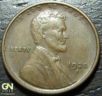 1920 S LINCOLN CENT WHEAT CENT  --  MAKE US AN OFFER  G4924