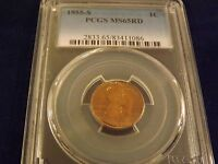 1955-S     LINCOLN CENT