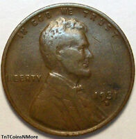 1931-D 1C LINCOLN WHEAT CENT PENNY US COIN R GRADE COPPER COLLECTIBLE