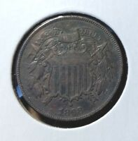 1868 TWO CENT - EXTRA FINE