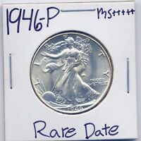 1946-P WALKING LIBERTY HALF DOLLAR UNC US MINT GEM PQ SILVER COIN BU MS