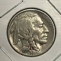1936-S BUFFALO NICKEL.  COLLECTOR COIN FOR YOUR COLLECTION OR SET.4