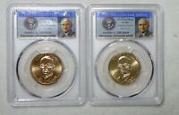 2015 P HARRY S.TRUMAN PRESIDENTIAL DOLLAR SET PCGS MINT STATE 66 POSITION A&B