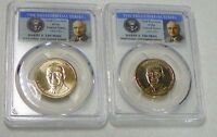 2015 D HARRY S.TRUMAN PRESIDENTIAL DOLLAR SET PCGS MINT STATE 67 POSITION A&B