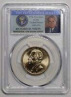 2016 D RICHARD M. NIXON PRESIDENTIAL DOLLAR COIN PCGS MINT STATE 66 POSITION B