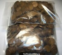 1909 1958 LINCOLN WHEAT CENT PENNY CIRCULATED PRICE PER EACH COIN FROM THIS LOT