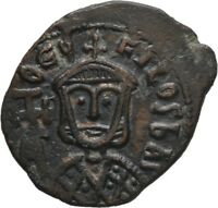 LANZ BYZANTINE EMPIRE THEOPHILUS FACING BUSTS SYRACUSE VF 3.