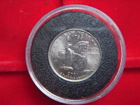 2001 COMMEMORATIVE COIN FROM THE USA TO COM BUSH AND BLAIR DEFENDERS OF FREEDOM