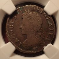 1691 IRELAND SIEGE EMERGENCY 1/4P FARTHING LIMERICK BESIEGED NGC CERTIFIED