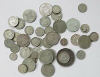 GROUP OF MIXED AUSTRALIAN/COMMONWEALTH SILVER COINS 280G