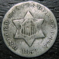 1853 3 CENT SILVER PIECE  --  MAKE US AN OFFER  R5276