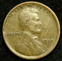 1918 LINCOLN WHEAT CENT PENNY VG GOOD  B01