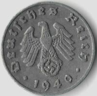 OLD VINTAGE GERMAN WWII MILITARY GERMANY THE GREAT WAR COLLECTION WW2 COIN