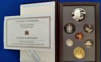 1995 CANADA SPECIAL EDITION 7 COIN PROOF SET W/ PEACE KEEPIN