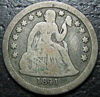 1841 O SEATED DIME  --  MAKE US AN OFFER  R5234