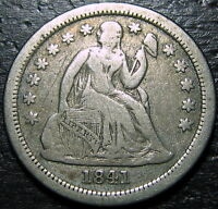 1841 O SEATED DIME  --  MAKE US AN OFFER  R5233