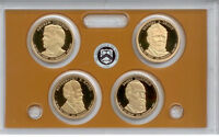 2011-S PRESIDENTIAL DOLLAR PROOF SET WITH BOX & COA   ZZ2