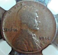 1914D LINCOLN CENT NGC VG-8 NO PROBLEM KEY DATE