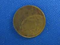 1865 U.S. 2 TWO CENT COPPER COIN