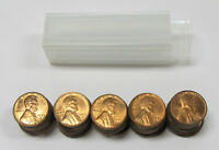 1953-D LINCOLN WHEAT CENTS BU UNCIRCULATED ROLL OF 50- COINS