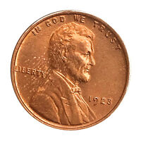 1923 P LINCOLN WHEAT CENT - RED GEM BU / MS RD / UNC