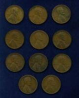 U.S. LINCOLN SMALL CENTS: 1923,1924,1925,1925-D,1925-S,