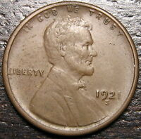 1921 S LINCOLN CENT WHEAT CENT  --  MAKE US AN OFFER  R4610