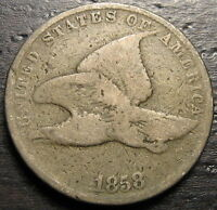 1858 FLYING EAGLE CENT  --  MAKE US AN OFFER  R4446