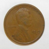 1919S LINCOLN CENT, CIRCULATED AND UNGRADED