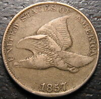 1857 FLYING EAGLE CENT  --  MAKE US AN OFFER  R5474
