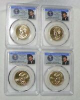 2015 P&D KENNEDY PRESIDENTIAL DOLLAR SET PCGS MINT STATE 67 POSITION  A&B 4 COIN SET