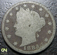 1883 WITH CENTS LIBERTY V NICKEL  --  MAKE US AN OFFER  R2739