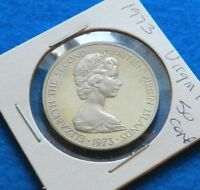 1973 VIRGIN ISLAND 50 CENTS - BEAUTIFUL PROOF PELICAN COIN - SEE PICS