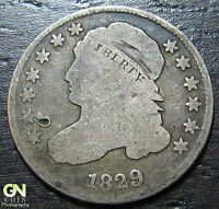 1829 CAPPED BUST DIME  --  MAKE US AN OFFER  W3673 ZXCV