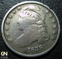 1835 CAPPED BUST DIME  --  MAKE US AN OFFER  W3679 ZXCV