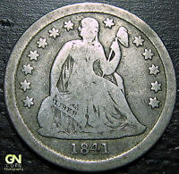 1841 P SEATED DIME  --  MAKE US AN OFFER  Y9862