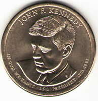 US. 2015-D. JOHN F. KENNEDY. 35TH PRESIDENT 1961-11/22/1963 UNC.