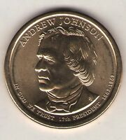 US. 2011-D. ANDREW JOHNSON. 17TH PRESIDENT 1865-68 UNC