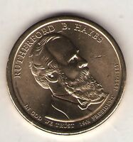 US. 2011-D. RUTHERFORD B. HAYES. 19TH PRESIDENT 1877-80 UNC