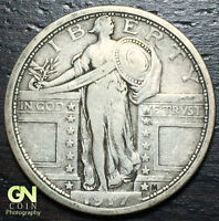 1917 P TYPE 1 STANDING LIBERTY QUARTER  --  MAKE US AN OFFER  Y6698