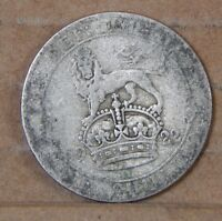 GEORGE V SHILLING  50 SILVER COIN 1922 UK COIN