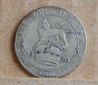 1920 GEORGE V SHILLING  50 SILVER COIN