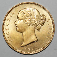 BRITISH ANCIENT GOLD COIN/EAST INDIA COMPANY QUEEN VICTORIA