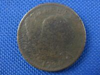 1794 HEAD OF 1793 LIBERTY HEAD COPPER LARGE CENT COIN DOUBLE CHIN