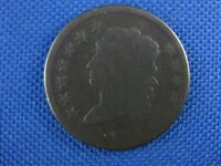 1814 CROSSLET 4 CLASSIC HEAD COPPER LARGE CENT COIN