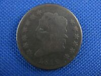 1812 SMALL DATE CLASSIC HEAD COPPER LARGE CENT COIN