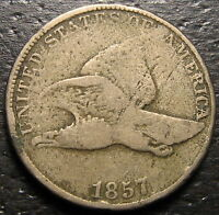 1857 FLYING EAGLE CENT  --  MAKE US AN OFFER  R4429
